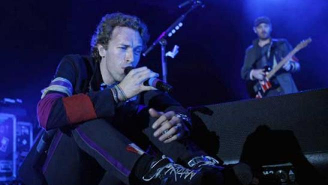 Chris Martin, cantante de Coldplay, en una imagen de archivo.