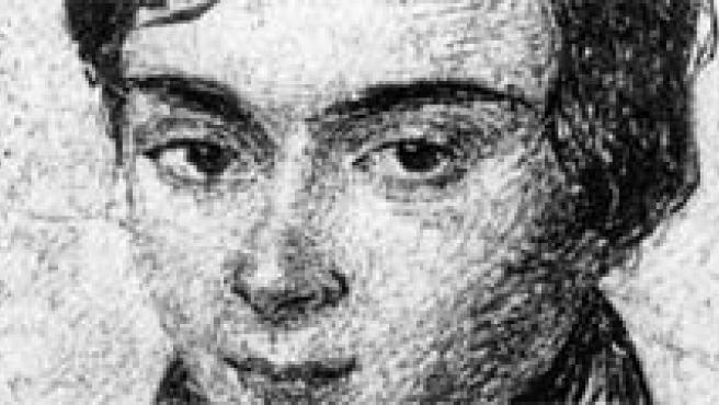Uno de los pocos retratos del matemático que se conservan.