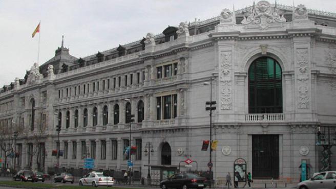 Sede del Banco de España, en la Plaza de Cibeles de Madrid.
