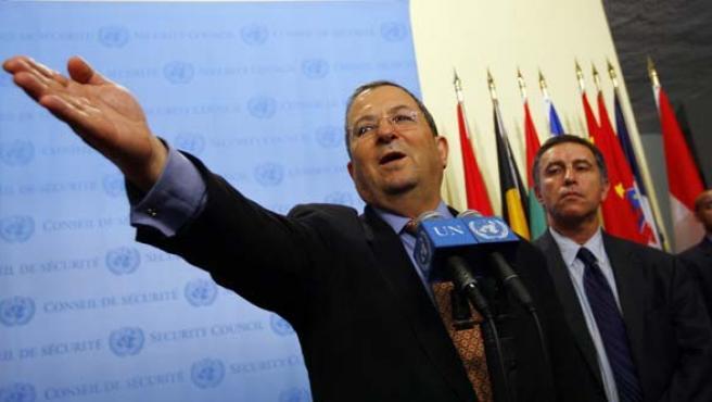 Ehud Barak, en una foto de archivo. (REUTERS)