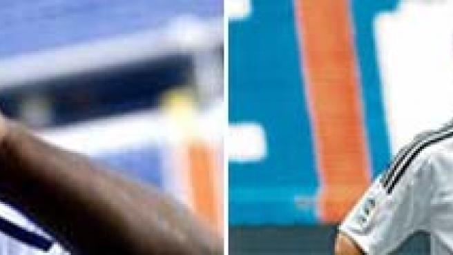 Lass y Huntelaar, del Real Madrid.