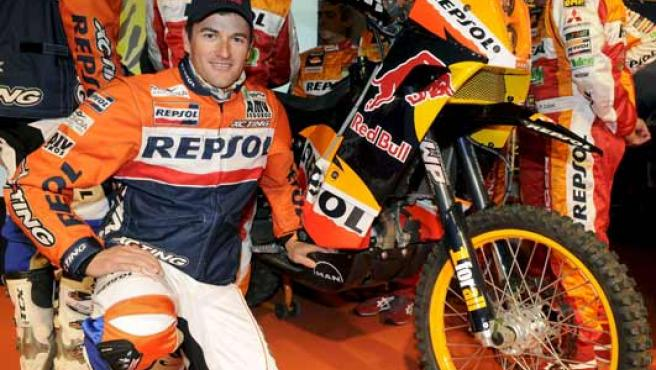Marc Coma en el Dakar. (EFE)
