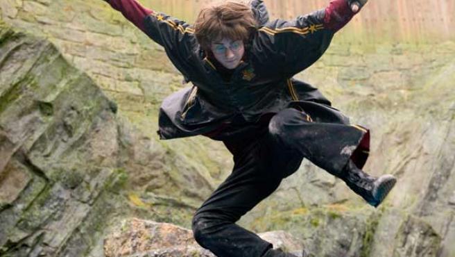 Daniel Radcliffe en una imagen de 'Harry Potter'.
