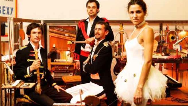 Los cuatro músicos que darán vida a este espectáculo.