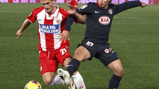El Kun (dcha), en una acción en Almería (Agencias).