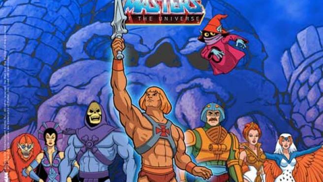 He-man y los Master de los Universo.