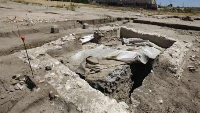 Yacimiento con ruinas romanas, en este caso en Arroyomolinos.