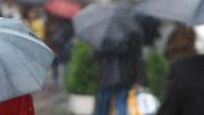 Los paraguas han sido muy necesarios.