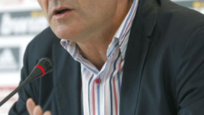 Juande Ramos, en rueda de prensa. (EFE)