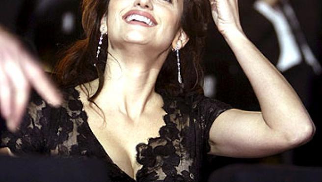 Penélope Cruz, durante la gala de los Goya. (Reuters)