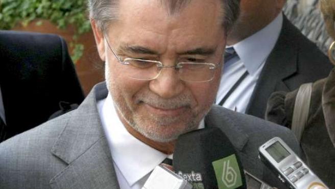 El ministro de Justicia, Mariano Fernández Bermejo, en una imagen de archivo.