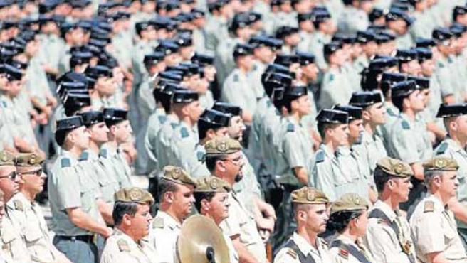 Promoción de agentes de la Guardia Civil de 2007 (ARCHIVO).