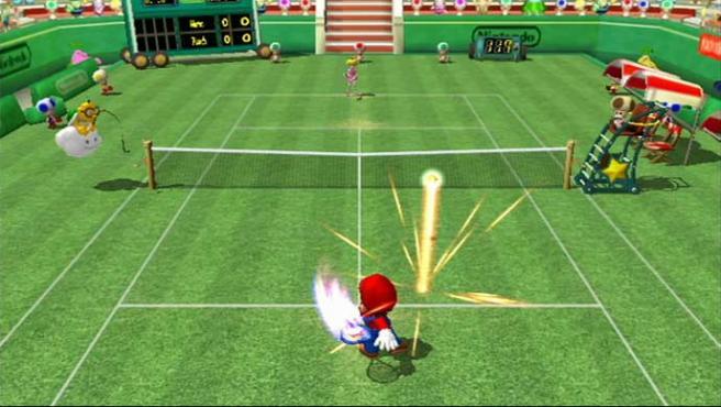 Mario Power Tennis será el segundo juego de la línea 'New Play Control'.