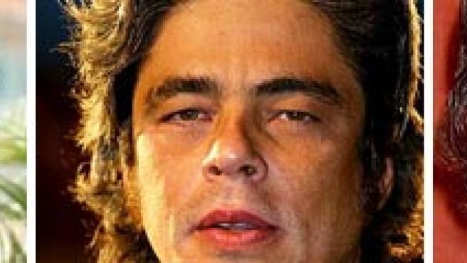 Gael García Bernal, Benicio del Toro y Daniel Day-Lewis, posibles protagonistas de 'Silence'.