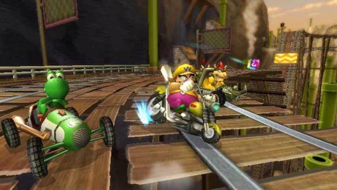 'Mario Kart Wii', el juego más vendido de 2008.