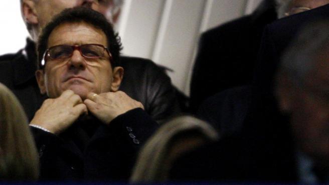 Fabio Capello, con gesto serio. (AGENCIAS)