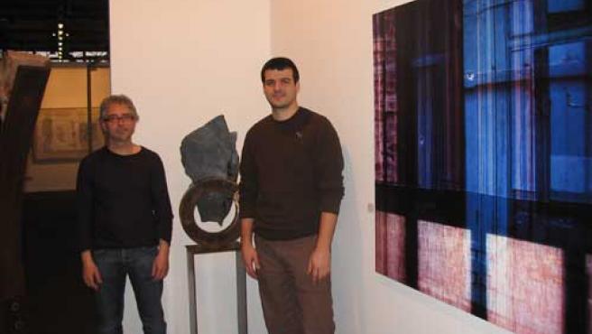 Joan Barrantes y Toni Font, en Art Madrid 08