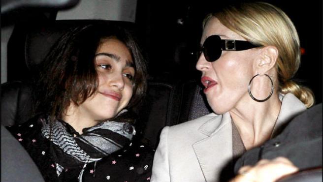 Madonna y su hija Lourdes, en una foto tomada el pasado noviembre (KORPA).