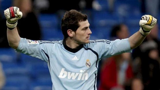 Iker Casillas, portero del Real Madrid.
