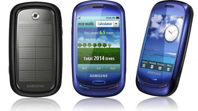 Blue Earth, el móvil más ecológico de Samsung.
