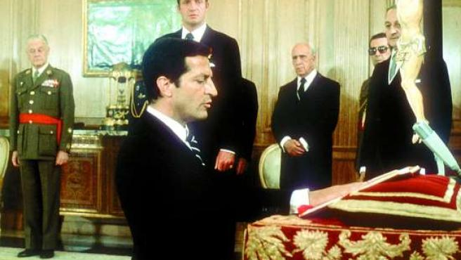 Adolfo Suárez asume el mandato (1976). (ARCHIVO)