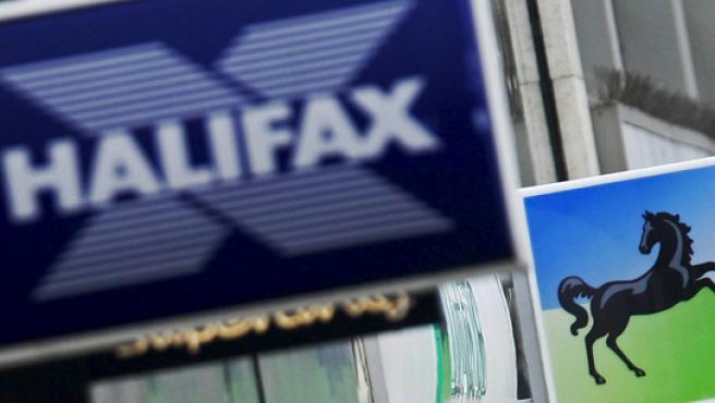 Halifax, una de las entidades británicas acosadas por la crisis.
