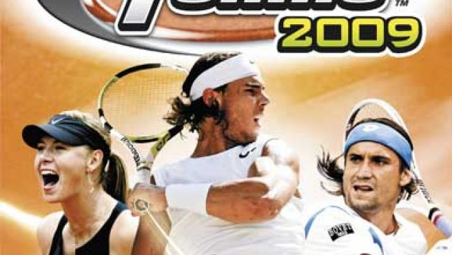 Carátula del primer juego de Virtua Tennis para Wii.