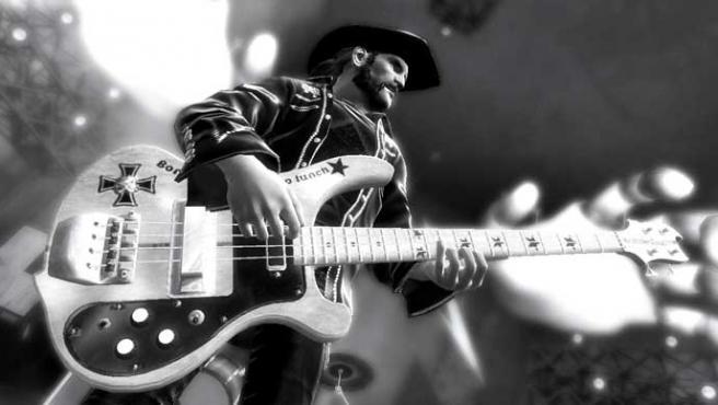 Lemmy en Guitar Hero Metallica.
