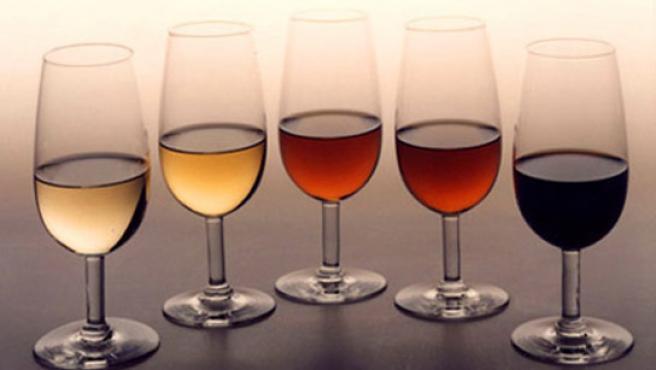 Distintos tipos de vino. (ARCHIVO)