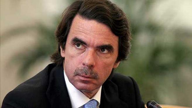 José María Aznar, durante una conferencia. (ARCHIVO)