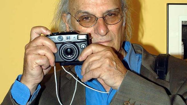 El director de cine español Carlos Saura.