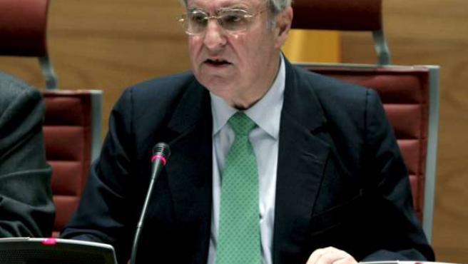 El Defensor del Pueblo, Enrique Múgica, en una imagen de archivo.
