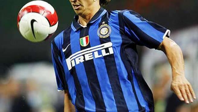 Una imagen del sueco del Inter Ibrahimovic.
