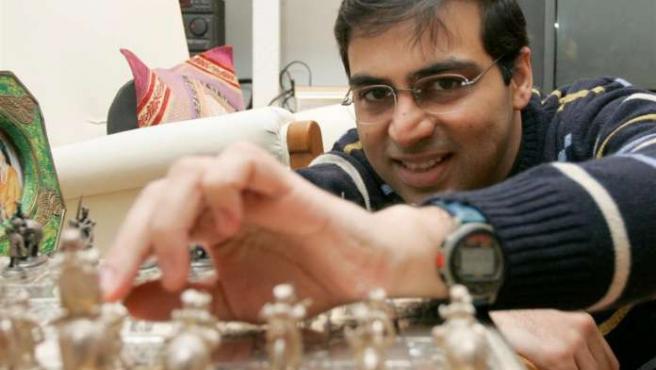 El ajedrecista indio Wiswanathan Anand.