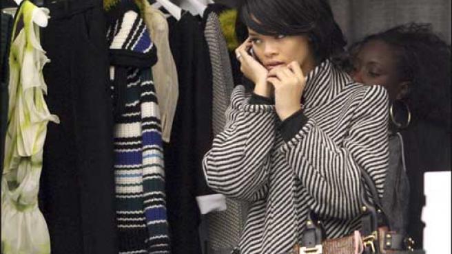 Rihanna, en una foto de archivo tomada en París (KORPA).