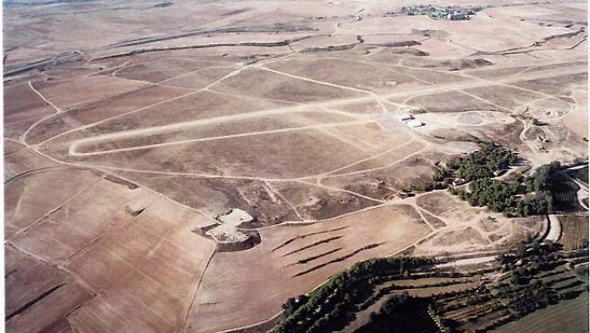 Aeródromo de Alfés (Lleida). (Ipcena).