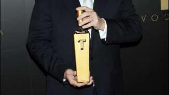 El magnate Donald Trump en una entrega de premios. (ARCHIVO)