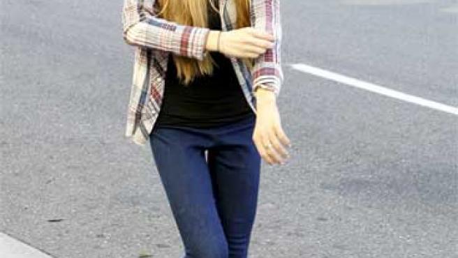 Lindsay Lohan, en una fotografía reciente (KORPA).