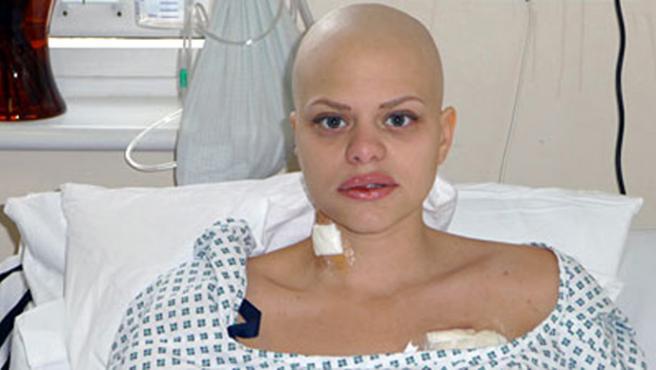 Jade Goody poco antes de fallecer. (FOTO: Sky News)