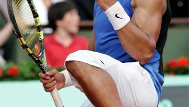 Rafa Nadal celebra una victoria (Foto: Archivo).
