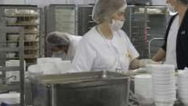 Cocina del hospital General, dependiente del Virgen de las Nieves.