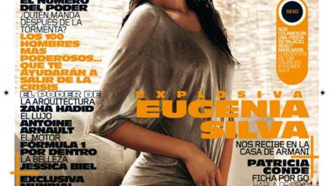 Eugenia Silva posa así de seductora en GQ.