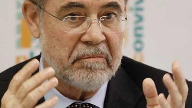 Mariano Fernández Bermejo en una rueda de prensa.