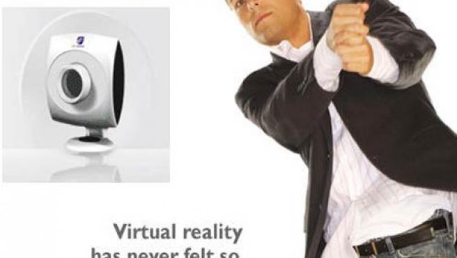Xbox 360 podría captar nuestros movimientos con la Zcam de 3DV Systems.