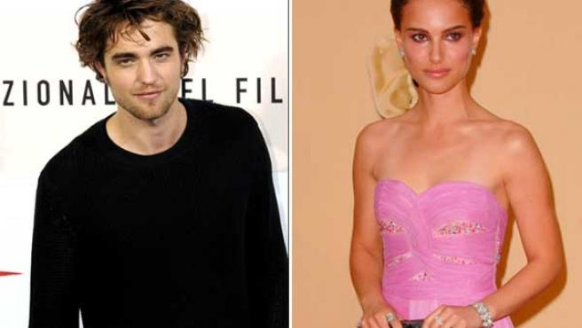 Robert Pattinson y Natalie Portman