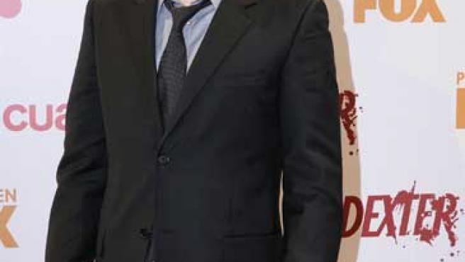 Michael C. Hall, protagonista de 'Dexter', en Madrid.