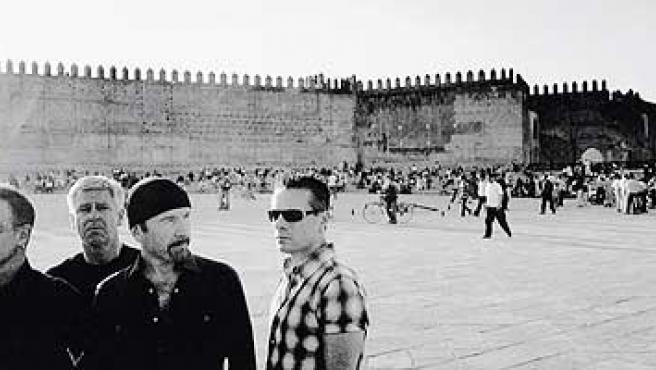 U2 en Fez, Marruecos, una de las ciudades donde han grabado su nuevo disco.