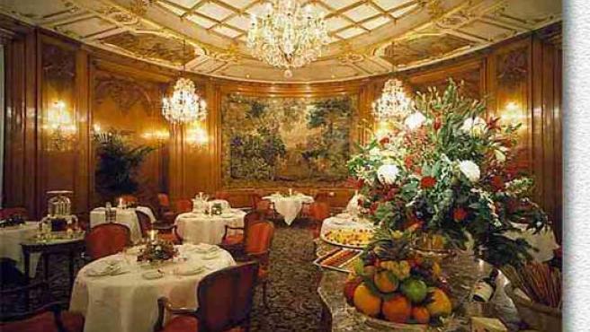 Restaurante Le Bistrol, en París.