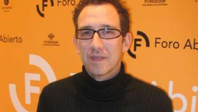 Ricardo Menéndez Salmón, en Oviedo.