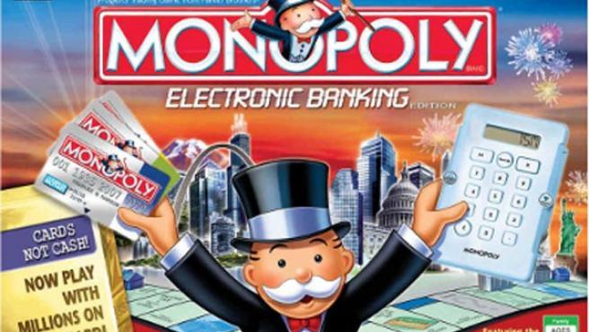 Una imagen del popular juego Monopoly.